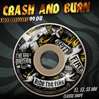 楽天市場 spitfire wheels crash and burn 99duro classic 51mm 53mm