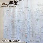 【メール便送料無料】カフェカーテンディズニー ミニー ルーム ラインアート 100×70cm 新生援 ディズニー DISNEY 可愛い かわいい 新生活 インテリア 雑貨 Minnie Mouse 雑貨 おしゃれ インテリア 在宅 勤務