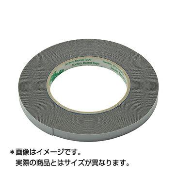 スリーエム(3M) ハイタック両面接着テープ ブラックフォーム 9708 30 AAD (テープ厚0.8mm 30mm幅 長さ10m) STRAIGHT/03-97830 (3M/スリーエム)