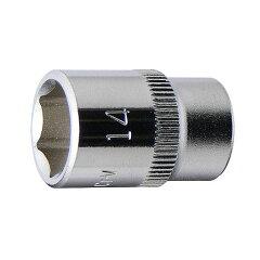 """3/8""""(9.5mm) ナールドデザインソケット 14mm 永久保証 STRAIGHT/10-38146 (FLAG/フラッグ)"""