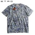 ETROエトロフラワープリントTシャツグレーSサイズ【新品】【YDKG-tk】【smtb-TK】【コンビニ受取対応商品】