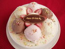 お誕生日の贈り物に♪特製・手作りバースデイアイスケーキ 5号