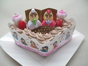 大切なあの人に♪ 今年のひな祭りはこれに決定!手作り・雛祭りアイスケーキチョコver(ひし形)