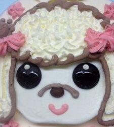 手作り誕生日アイスケーキ・プードル5号