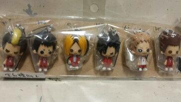 【ハイキュー!!】1point mascot 〜音駒高校〜 全6種セット ワンポイントマスコット