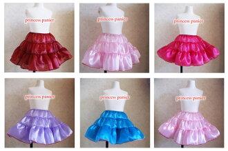 Glitter Princess Pannier new 6 color Princess petticoat all 15 color children's Gothic Lolita-Chan dance costumes