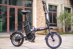 14型折り畳みアクセル付きフル電動電動アシスト自転車
