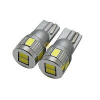 【ハイブリッド車対応】T10T165630SMDプロジェクター採用長寿命拡散LEDホワイト