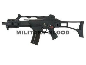 ガスブロ銃!軽快動作!!WE-Tech/ウィーテック製 ガスブロ—バック GBB G39C BK