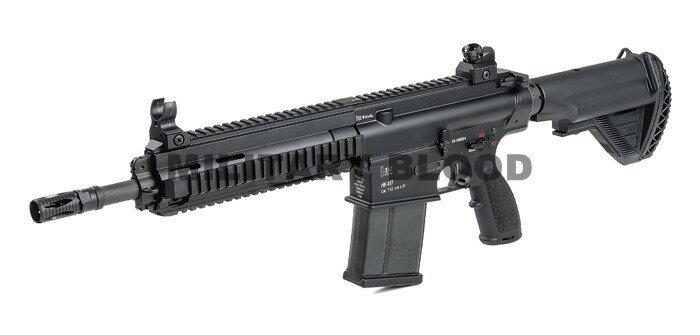 VFC Umarex HK417 12inch GBB ガスブローバック BK