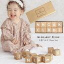 木製つみ木 アルファベット 10ピースセット 積み木 おもちゃ ブロック おもちゃ アルファベットキューブ クリスマスプレゼント