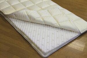 腰に良い軽量敷き布団(セミダブルサイズ)