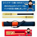 アシックス ベースボール ゴールドステージ バットケース(3本用) BEB170 野球部 野球用品 スワロースポーツ 3