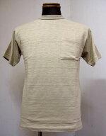 ウェアハウス(WAREHOUSE)Lot4601ポケット半袖TEEシャツ-ダークベージュ