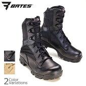 BATESベイツZR-8SideZipブーツブラック