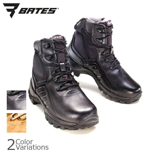 BATES(ベイツ)DELTA II M-6 SIDE ZIP BLACK GORE-TEX
