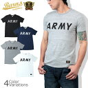 BARNS OUT FITTERS(バーンズ アウトフィッターズ) SWATオリジナル ダブルネーム ARMY 吊り編み天竺Tシャツ BR-6176