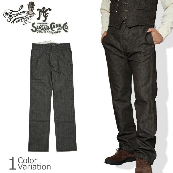 メンズファッション, ズボン・パンツ SUGAR CANE Co. MFSC NOS BROWN CANVAS CONTINENTAL TROUSERS SC41564