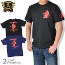 SWAT ORIGINAL(スワットオリジナル) メンズ Tシャツ 半袖 【ミリタリー】マッド ゴースト バックプリントTシャツ 6.2oz