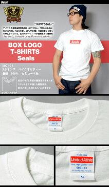 SWAT ORIGINAL(スワットオリジナル) ボックス ロゴ Tシャツ SEALS シールズ