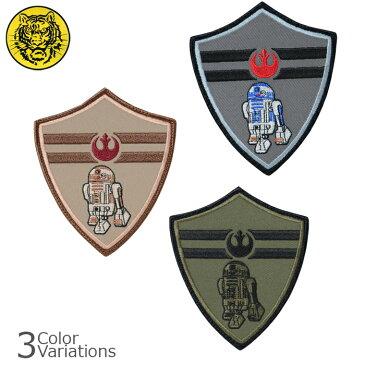 タイガーエンブ SW JEDI R2D2 反乱同盟軍 パッチ ミリタリーワッペン 【ネコポス】