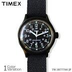 TIMEX(タイメックス) SS CAMPER キャンパー ブラック 【正規取扱い 1年保証書付き】 TW2R77700