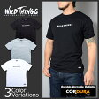 WILD THINGS(ワイルドシングス) EMBROIDERY T-SHIRT 刺繍ロゴ Tシャツ WT17034N