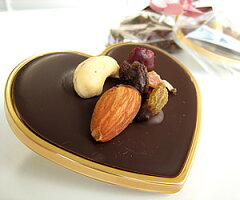ほどよいボリュームとゴージャス感♪【20個入り】バレンタインデー特集ハートのパレットチョコ