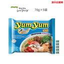 yumyum ヤムヤム シーフード 70g × 5袋 シーフードタイヌードル 海鮮タイラーメン