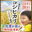 【送料無料】【新米】平成30年産 佐渡産コシヒカリ5kg(白...