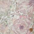 【サンドウオリジナルカラー】リバティプリント タナローン生地(Rose Xanthe/朱鷺羽tokiha/ピンク)ローズ・ザンジー【3635180】