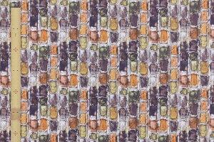 【サンドウオリジナルカラー】リバティプリントタナローン生地(IanRhodesイアン・ローズ)テラコッタオレンジ【3631162】