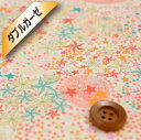 リバティプリント【40/-ダブルガーゼ】(Adelajda カラフルピンク)アデラジャ【11-3631256・LA】