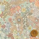 リバティプリント タナローン206(Margaret Annie マーガレット・アニー)ミルキーオレンジ リバティ