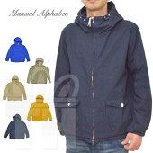 マニュアルアルファベットManualAlphabetパーカージャケットマウンテンパーカーシャツ