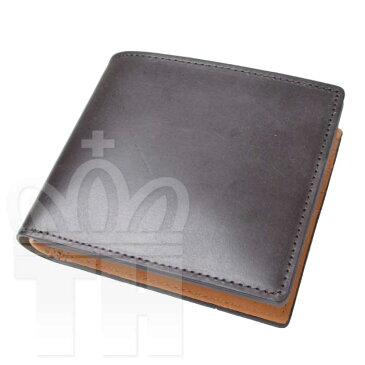 エスペラント esperanto イングランド 英国 最高級 レザー財布「ブライドルレザーショートウォレット」ESP-6391 チョコ 二つ折り財布【RCP】