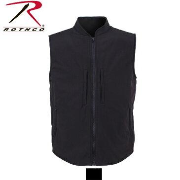 ロスコ コンシールド キャリー ソフトシェル ベスト(Rothco Concealed Carry Soft Shell Vest)86500