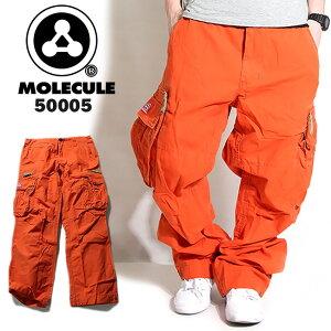 モレキュール ミリタリーカーゴパンツ オレンジ ボトムス カーゴパンツ ミリタリー アイテム オレンジカーゴパンツ ストリート スケーター