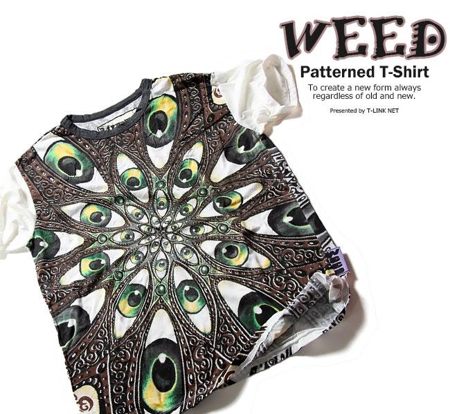 トップス, Tシャツ・カットソー WEED T EYES T T T T T weed001