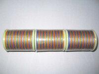 ジーンズステッチ糸20番150mレインボウ