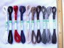 10色から選べますレザークラフトにツレデ 麻手縫い糸 30m