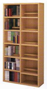 ものすごい収納力抜群のブックシェルフ大量最良&最高の画期的な大量収納整理棚ツイン棚板前後2...