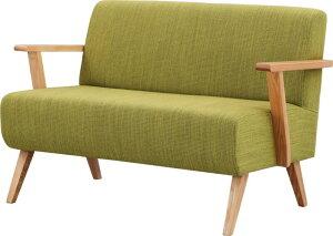完成品・2人掛け椅子・グリーン