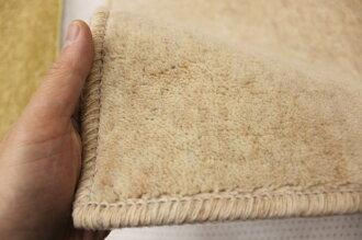 ウールカーペット6畳防音じゅうたん【W−500】クリーム色