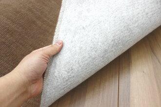 カーペット6畳丸巻き送料無料安い激安人気日本製抗菌防臭無地じゅうたん絨毯ブラウングレーアイボリーベージュ【品名スリート】江戸間6畳6帖261×352cm