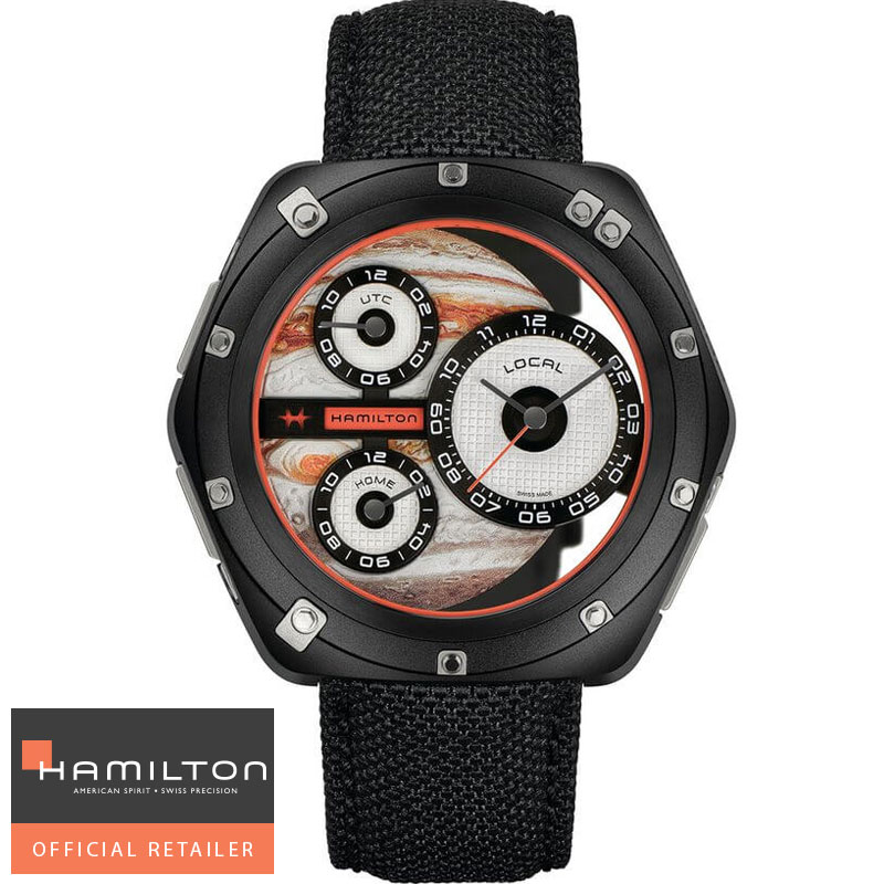 HAMILTON ハミルトン 腕時計 ODC X-03 H51598990 限定モデル 国内正規品メンズ