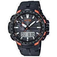 【CASIOPROTREK】PROTREKプロトレック腕時計トリプルセンサーVer.3PRW-6100Y-1JF国内正規品メンズ