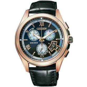 Citizen watch CITIZEN exceed light power eco-drive radio limited edition direct flight disc type quantity limited BY0062-08E mens