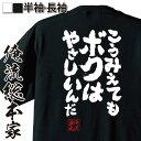 tシャツ メンズ 俺流 魂心Tシャツ【こうみえてもボクはやさしいんだ】名言 漢字 文字 メッセージtシャツ おもしろ雑貨 | 文字tシャツ 面白 大きいサイズ 文字入り プレゼント バックプリント ドラゴンボール フリーザ