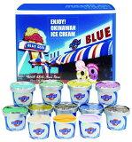 ギフトセット12 ブルーシールアイス アイスクリームギフト 詰め合わせ 12個セット アイス アイスクリーム ブルーシール お中元 塩ちんすこう 紅イモ ピスタチオ 送料無料 沖縄土産 内祝い ギフト 誕生日 バーべキュー キャンプ
